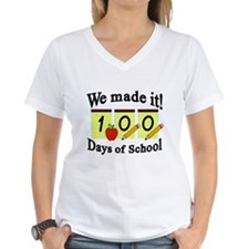 100th Day of School- We Made it! Shirt