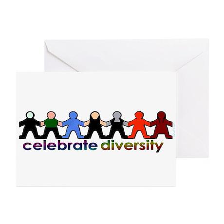 Celebrate Diversity Greeting (20) Cards