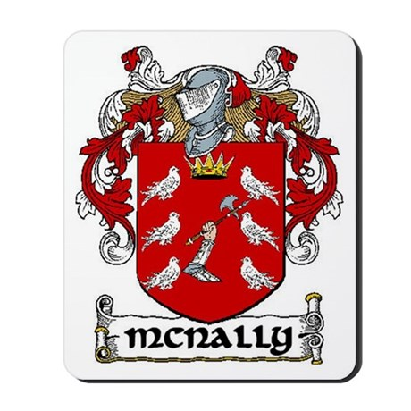 McNally Coat of Arms Mousepad