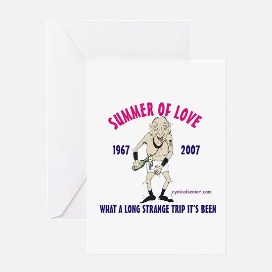 Summer of Love Greeting Card