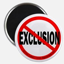 """Stop Exclusion 2.25"""" Magnet (10 pack)"""