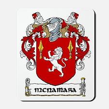 McNamara Coat of Arms Mousepad