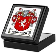 McNamara Coat of Arms Keepsake Box