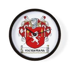 McNamara Coat of Arms Wall Clock