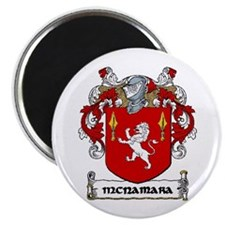 "McNamara Coat of Arms 2.25"" Magnet (10 pack)"