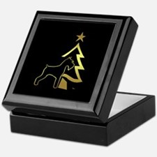 giant and tree in gold Keepsake Box