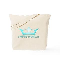 Camping Princess - 3 Tote Bag