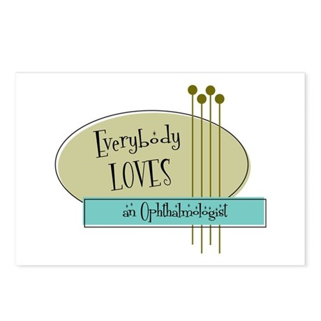 Everybody Loves an Ophthalmologist Postcards (Pack