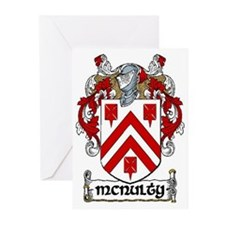 McNulty Coat of Arms Note Cards (Pk of 10)