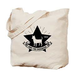Obey the Chihuahua! Star Icon Tote Bag
