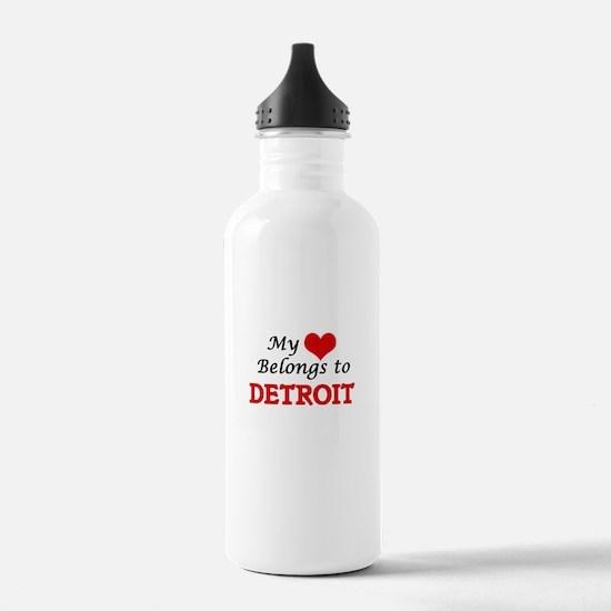 My heart belongs to De Water Bottle