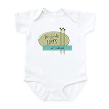 Everybody Loves an Odontologist Infant Bodysuit