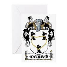 McQuaid Coat of Arms Note Cards (Pk of 10)