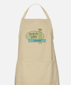 Everybody Loves a Numismatist BBQ Apron