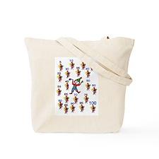 100th Day Wacky Tote Bag