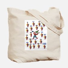 100th Day Wacky Tote Bag