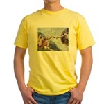 Creation / Weimaraner Yellow T-Shirt
