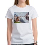 Creation / Weimaraner Women's T-Shirt