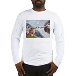 Creation / Weimaraner Long Sleeve T-Shirt