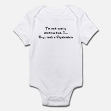 Distracted by Clydesdales Infant Bodysuit