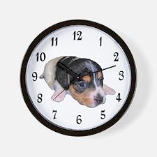 I'VE GOT PUPPY LOVE Wall Clock