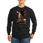 Accolade / Weimaraner Long Sleeve Dark T-Shirt