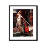 Accolade / Weimaraner Framed Panel Print