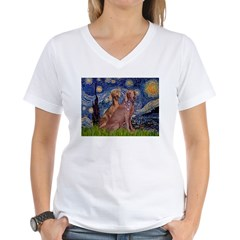 Starry / 2 Weimaraners Shirt