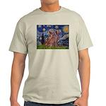 Starry / 2 Weimaraners Light T-Shirt