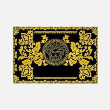 Cool Black greek Rectangle Magnet