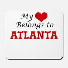 My heart belongs to Atlanta Georgia Mousepad