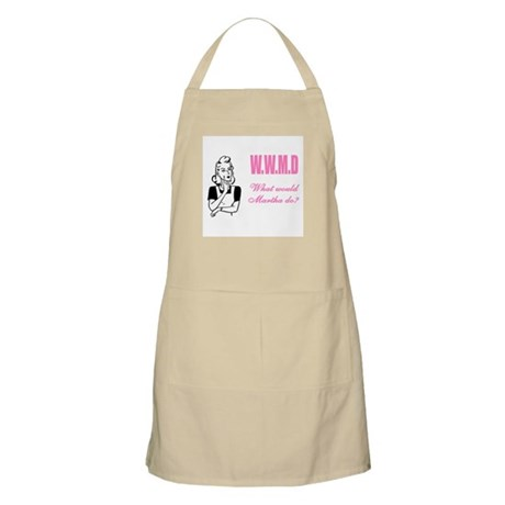WWMD? What Would Martha Do BBQ Apron