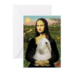 Mona / Tibetan T Greeting Cards (Pk of 10)
