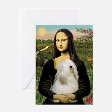 Mona / Tibetan T Greeting Card