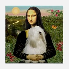 Mona / Tibetan T Tile Coaster