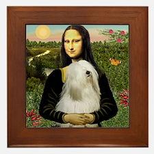 Mona / Tibetan T Framed Tile
