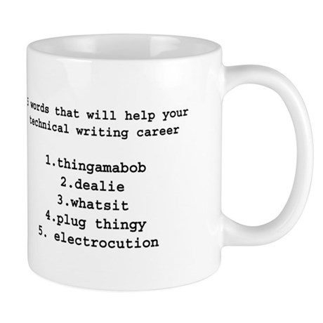 Technical writers Mug