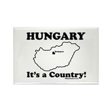Hungary is a Country Rectangle Magnet