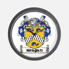 Reagan Coat of Arms Wall Clock