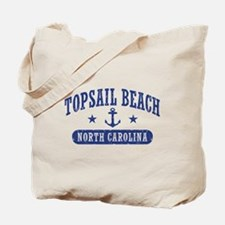 Topsail Beach NC Tote Bag