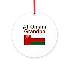 Omani #1 Grandpa Keepsake Ornament