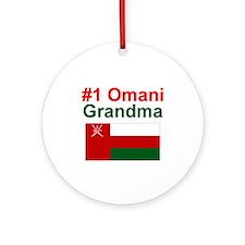 Omani #1 Grandma Keepsake Ornament