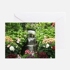 Waterfall Greenhouse Greeting Cards (Pk of 20)