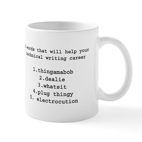 Technical writers Mug