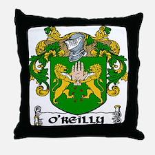 O'Reilly Coat of Arms Throw Pillow