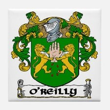 O'Reilly Coat of Arms Ceramic Tile