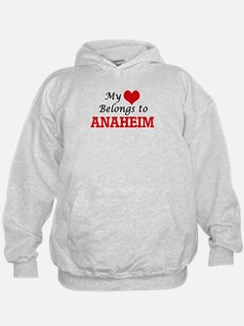 My heart belongs to Anaheim California Hoodie