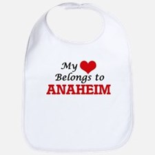 My heart belongs to Anaheim California Bib