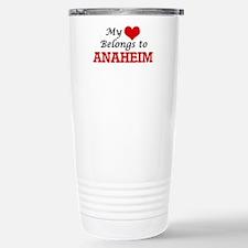 My heart belongs to Ana Stainless Steel Travel Mug