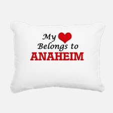 My heart belongs to Anah Rectangular Canvas Pillow